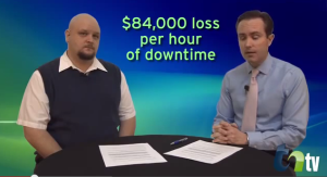 estimated downtime costs for business