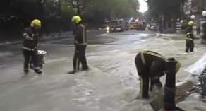 building flood no access
